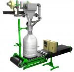 ДЕЛЬТА 1000Ф, ДЕЛЬТА 2000Ф для фасовки сыпучих материалов в контейнеры биг-бэг высокой производительности «ГЕРМЕС»