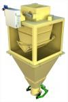 ГАММА 25Ф, ГАММА 50Ф для фасовки сыпучих продуктов в мешки 25 и 50 кг средней производительности