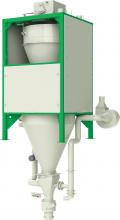 ГАММА 1000-0,5, ГАММА 1500-0,5, ГАММА 2000-0,5 дозатор для фасовки сыпучих материалов в контейнеры биг-бэг  «ТИТАН»
