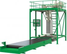 ДЕЛЬТА 1000-0,5, ДЕЛЬТА 1500-0,5, ДЕЛЬТА 2000-0,5 дозатор для фасовки сыпучих материалов в контейнеры биг-бэг высокой производительности «ГЕРМЕС»
