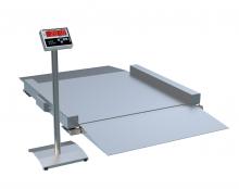 Платформенные весы низкопрофильные ВПН