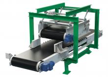 Конвейер ленточный передвижной для прокатки мешков КЛППМ
