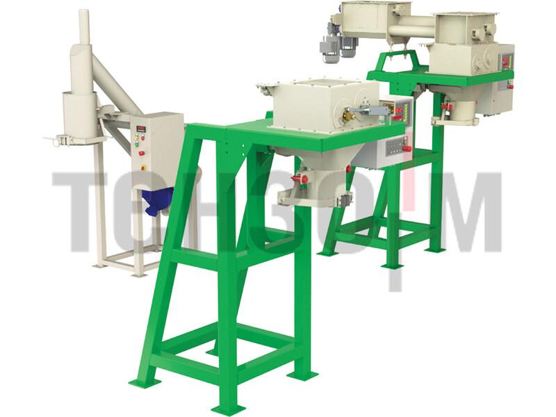 Дозаторы малой производительности в открытые мешки до 50 кг