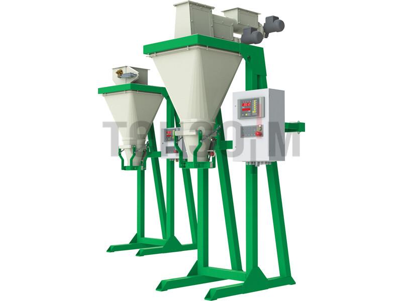 Дозаторы для фасовки в открытые мешки до 10 кг