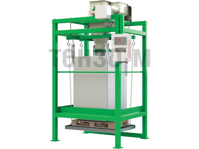 ДЕЛЬТА 1000-0,5 дозатор для фасовки различных типов продуктов в мягкие контейнеры биг-бэг «ГЕРАКЛ»