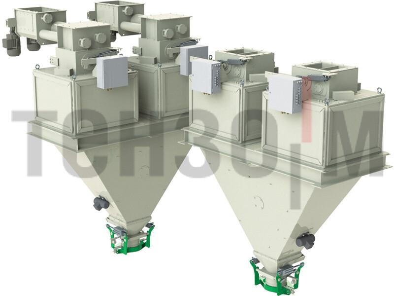 Дозаторы высокой производительности для фасовки в открытые мешки до 50 кг