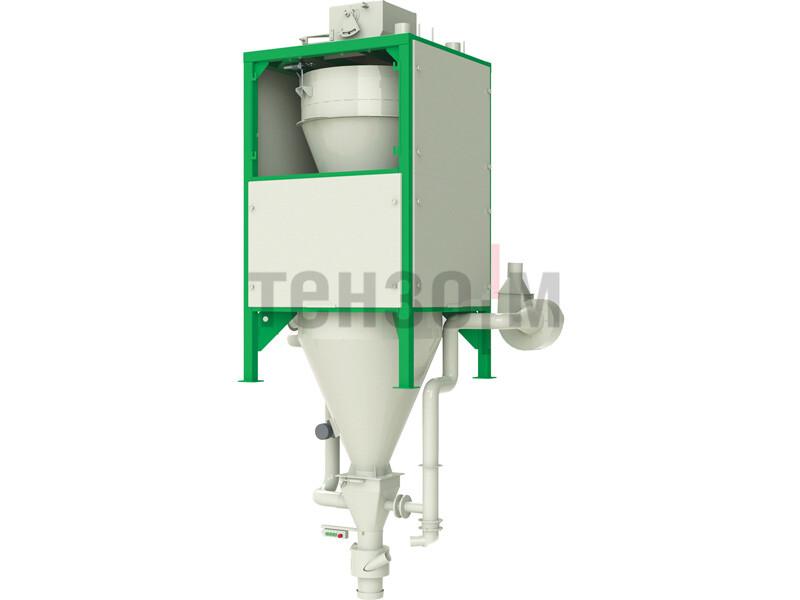 ГАММА 1000Ф, ГАММА 2000Ф дозатор для фасовки сыпучих материалов в контейнеры биг-бэг «ТИТАН»