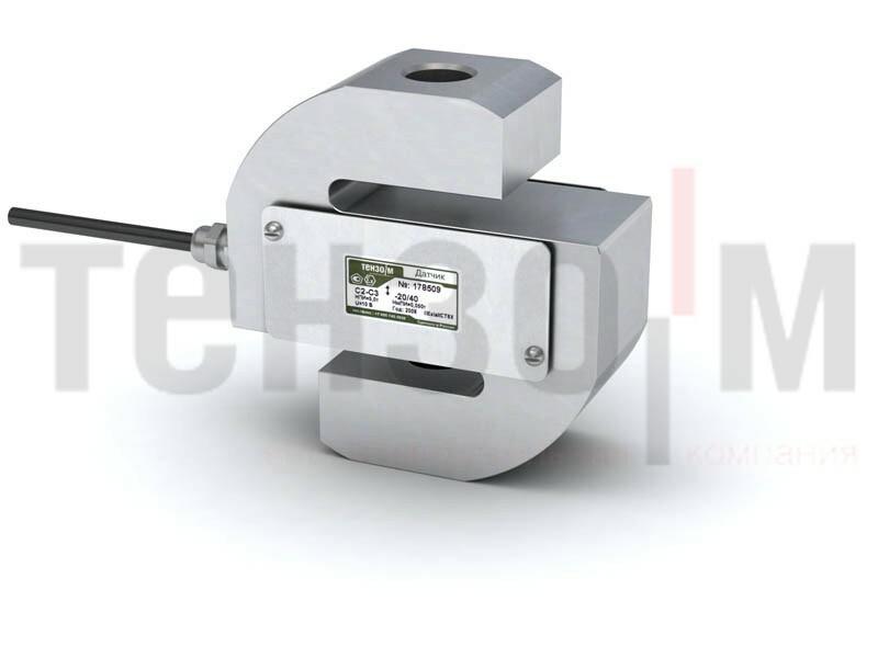 Тензорезисторный датчик растяжения-сжатия