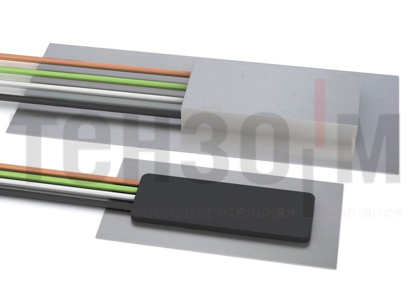 Тензорезисторный датчик для измерения деформаций поверхности