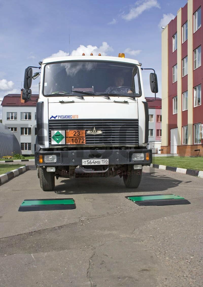 ВА-П: весы для определения осевых нагрузок автотранспорта