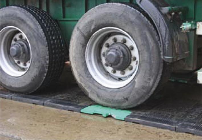 мобильные весы для поосного взвешивания грузовых автомобилей